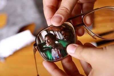 Old eyeglass picture frames.. would be so cute on a shelf :) Something to do with all those old aviators @sawyer13