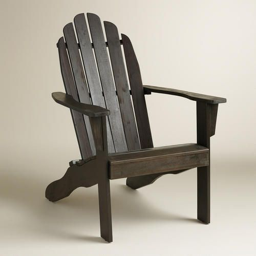 Espresso Adirondack Chair Chairs World And Products