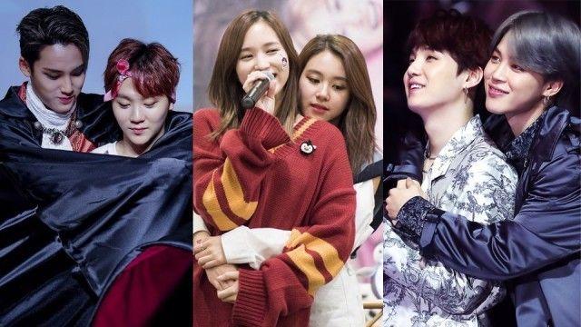 7 K Pop Idols Who Are Experts At Giving Back Hugs Back Hug Kpop Idol Kpop