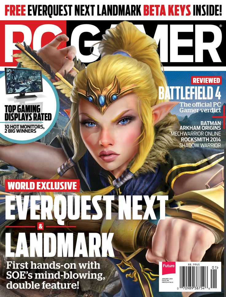 pc Gamer Magazine pc Gamer Cover Each Issue #gaming #gamer  #magazines
