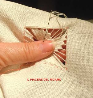 Vintage embroidery ricamo sfilato lines ebay