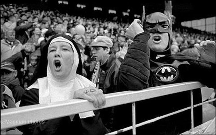 'Nun' and 'Batman' at horse game