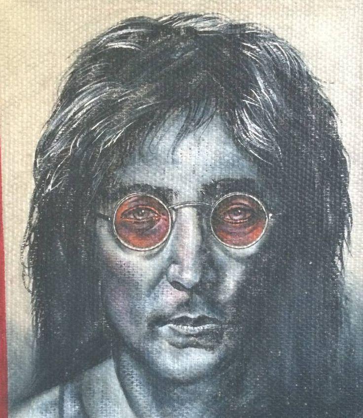 1000 images about john lennon 1 on pinterest pop art for Eric mural painter