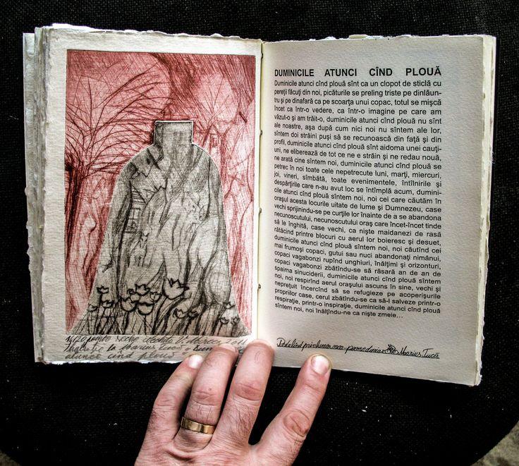 carte bibliofila 2. ilustratie, gravura, si pagina tiparita