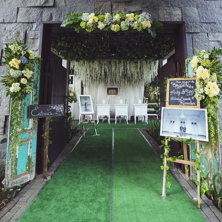 22 best pelaminan outdoor images on pinterest wedding arches kattura for organdi decor cc photographed by video by junglespirit Gallery