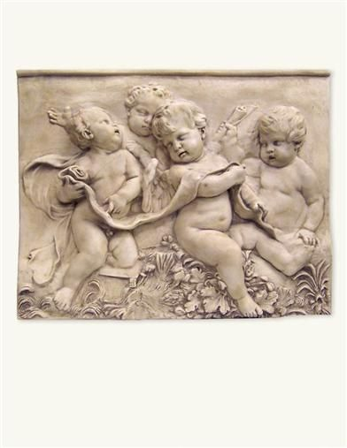 ♔ GROUPO PUTTI WALL PLAQUE