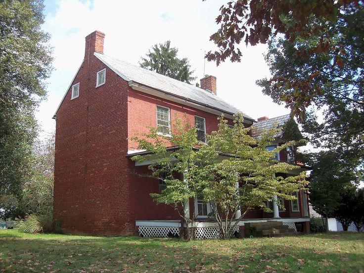 Hanover Farm House in Montgomery County, Maryland.