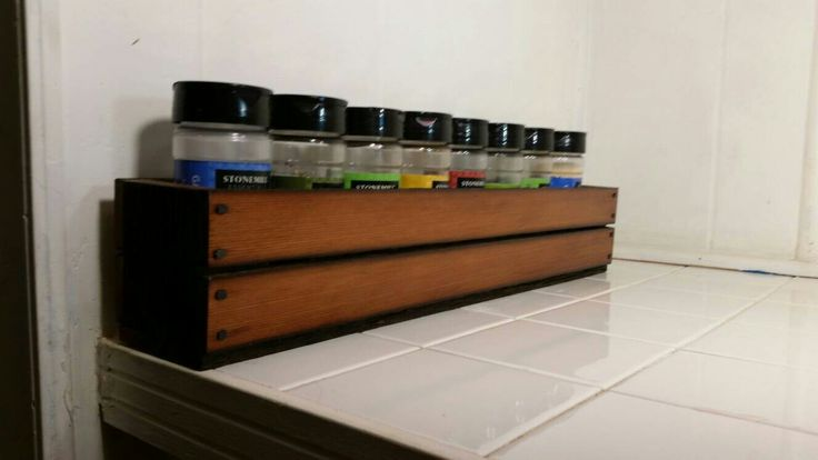 Excited to share the latest addition to my #etsy shop: Spice Rack made from Reclaimed Redwood and hand milled Black Walnut from our small Missouri farm. Custom sizes and styles available. #spiceracks #crate #handcrafted #reclaimedredwood #rustic #customcrate #blackwalnut http://etsy.me/2Dz4sm6