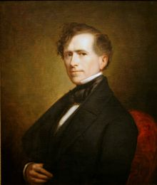 Franklin Pierce  14th US President of   In office  March 4, 1853 – March 4, 1857  Vice President 	William Rufus King