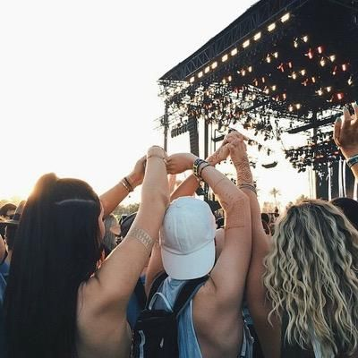 Go to Coachella with my best friends  ◖ pin: ellenfont ◗