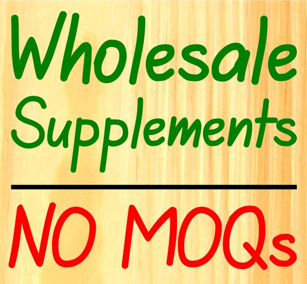 WHOLESALE SUPPLEMENTS: UK manufactured; white label option; dropshipping available; no MOQs!