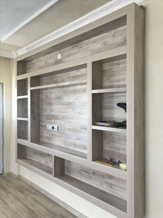 Wall-mounted Entertainment Center