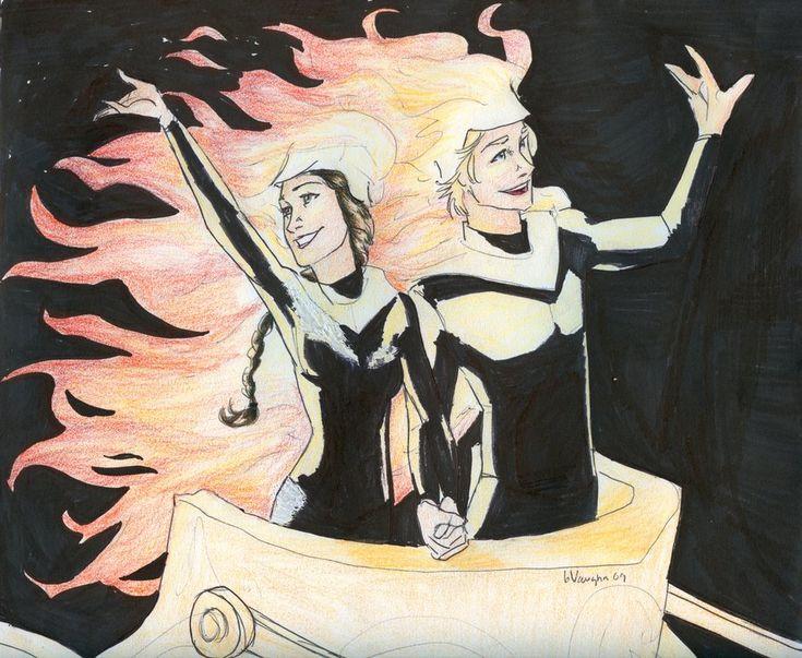 The girl on fire! Great artist!  http://burdge-bug.deviantart.com/  on fire by *burdge-bug