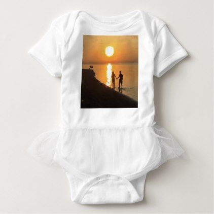 Sunset in Bali Baby Bodysuit - honeymoon gifts giftidea ideas wedding