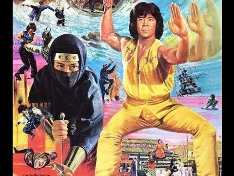 Ниндзя в логове дракона  (каратэ,кунг-фу,ниндзя,Хироюки Санада,Кенон Ли)