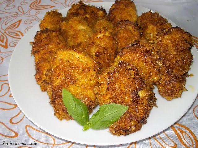 Kąski z kurczaka to doskonały pomysł zarówno na obiad jak i jako przekąska imprezowa. Pyszne, chrupiące. Idealne z różnego rodzaju sosami cz...
