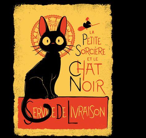 Clin d'œil à la revue du chat noir