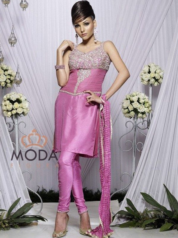 Latest and modern Punjabi churidar suit for college and party