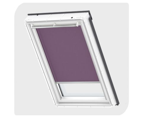 Velux Roller Blind - Dark Purple