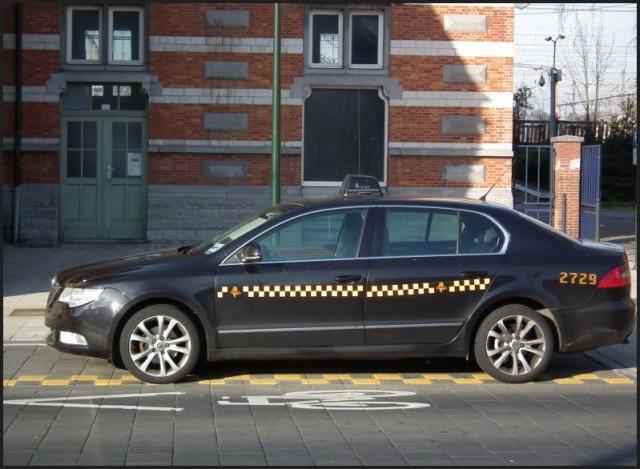 'Eindelijk' ook EV taxi's in Brussel.