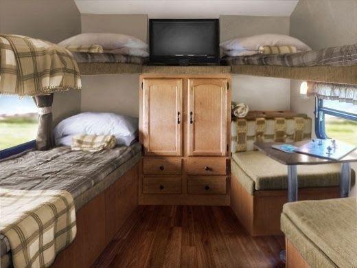 How To Make Best Bedroom For RV Living 37