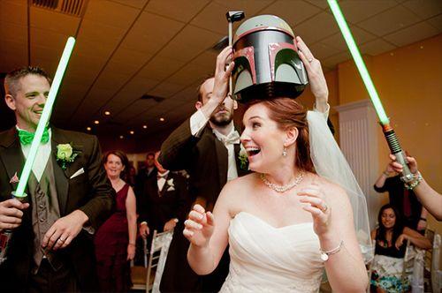 Casamento Nerd: Tema Star Wars e Star Trek | Nerd Da Hora