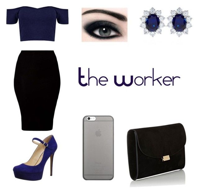 """""""The Worker"""" by un-title-d on Polyvore featuring American Apparel, Jessica Simpson, Native Union, Mansur Gavriel and CARAT*"""