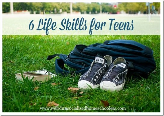 """Academics usually take the focus of preparation for life after high school, but the teen years are a great time for practicing other necessary life skills. While there are probably dozens of skills that fall under the """"necessary life skills"""" heading,"""