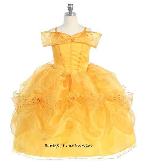 Belle Princess Toddler Girls Costume from Butterfly Kisses