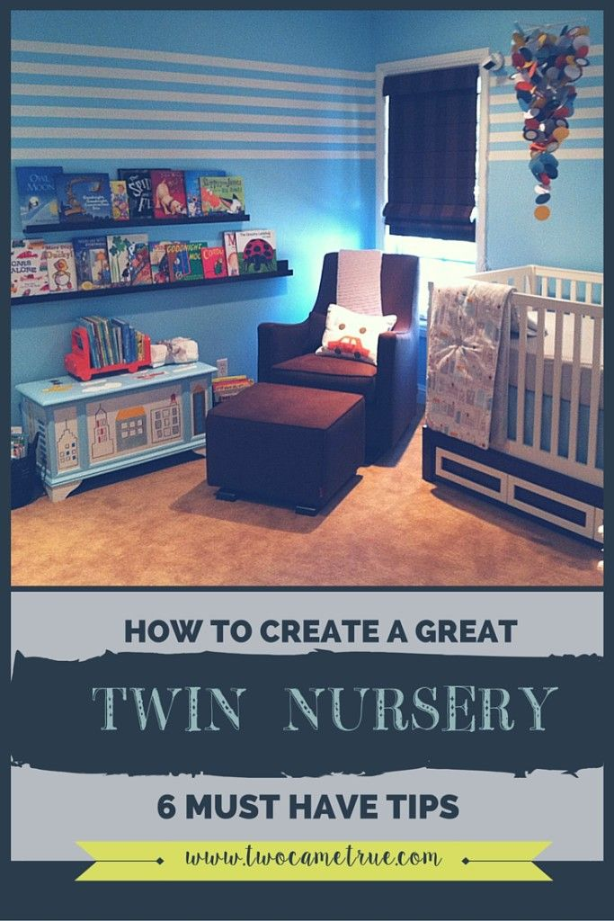 How To Create A Great Twin Nursery 6 Must Have Tips For Pregnant Moms