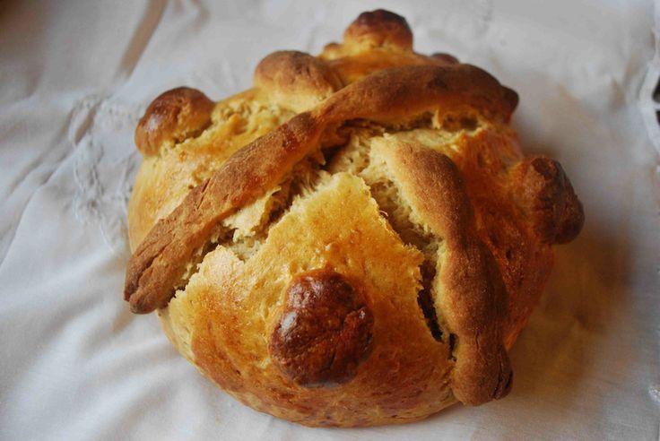 Pan de Muerto- Day of the Dead bread! Kids can help make it!