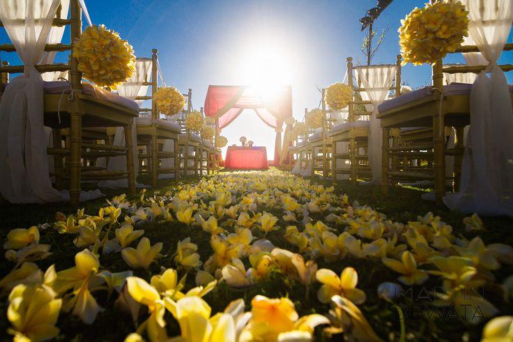 many bride's favorite Bali flower! the Frangipani!