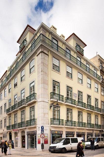 Ojalá vivir en este edificio de Lisboa.
