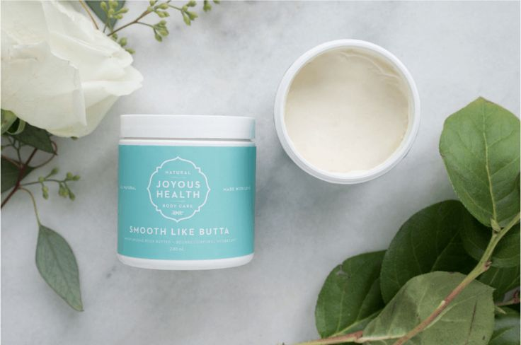 Smooth Like Butta Body Butter –without the icky chemicals!