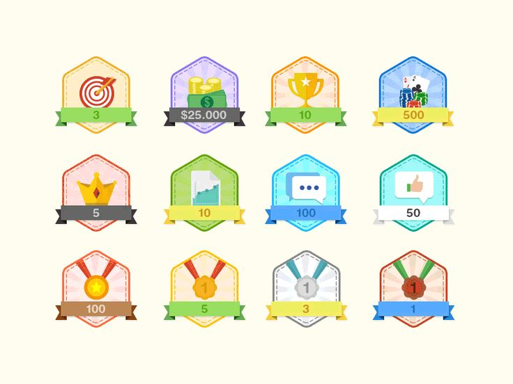 Badges for poker community website, and some practice with AE animations.  Thanks roundicons.com for the icons ;)