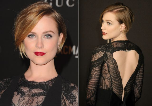 Best Hairstyles for Long Face Shapes: 30 Flattering Cuts: Evan Rachel Wood