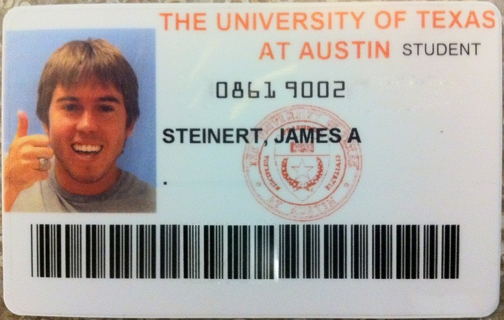 I'm a grad student at UT. I have learned all sorts of interesting things here. Including that the ID picture they take of you during orientation shows up on the roster for every class you enroll in.