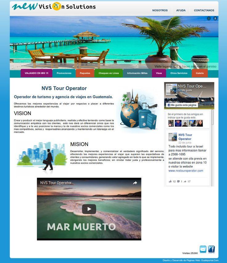 NVS Tour Operator, Operadores de turismo en Guatemala. Paquetes, promociones, Destinos, información y todo lo que necesita para viajar fuera de Guatemala. Para saber más de ellos visita www.nvstouroperator.com