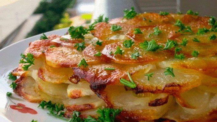 Картофель «Анна» (фр. «pommes anna») — классическое французское блюдо. Картофель для него нарезается очень тонкими …