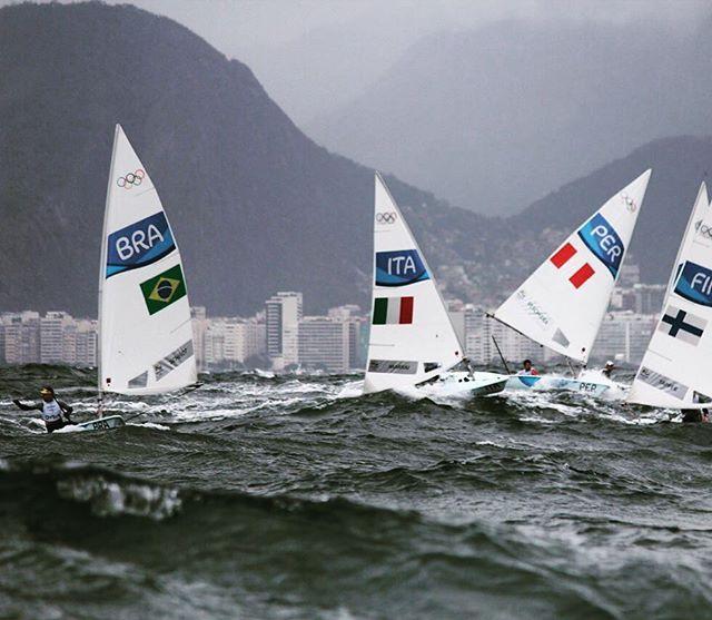 WEBSTA @ alp_alpagut - #rio2016 #olympics #sailing #lasersailing #downwind #bigwaves