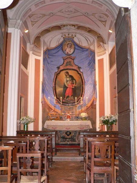 Interno dell'Oratorio dell'Immacolata Concezione (detto di S. Anna)