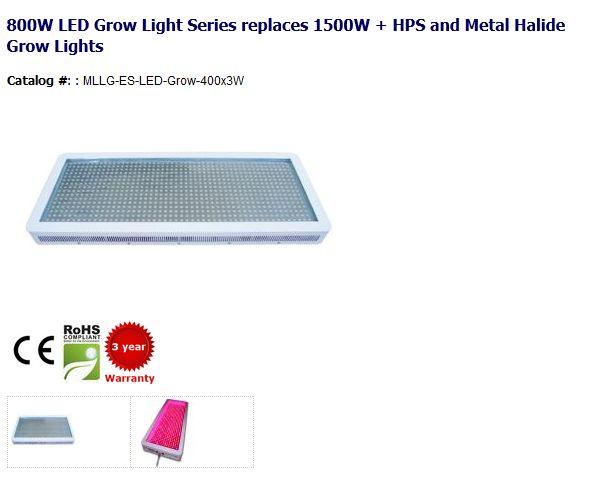 800W LED Grow Light Series replaces 1500W + HPS and Metal Halide Grow Lights.   http://www.myledlightingguide.com/  #LED #GrowLight