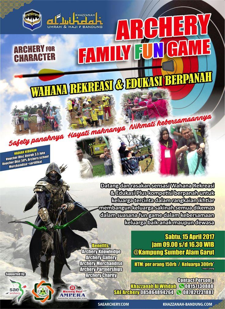 ARCHERY FAMILY FUN GAME | Sae Archery