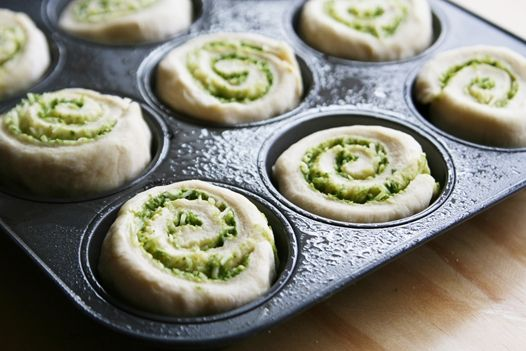 Pesto Rolls   Yeast Bread Dinner Rolls   Savory Sweet Life - Easy Recipes from an Everyday Home Cook