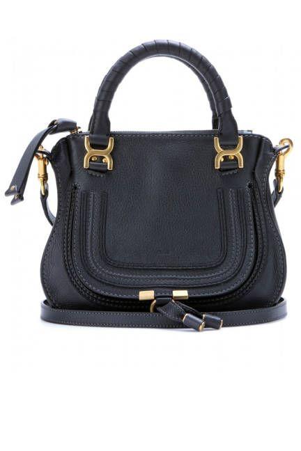 Chloé Baby Marcie Leather Handbag. Ve más de moda, tendencias y looks en www.tuguiafashion.com
