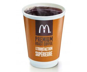 Mark your calendars!  February 24 - March 2, 2014, McDonald's restaurants are again handing out free coffee! Stop in at your nearest McDonald's anytime of the day to receive a free small coffee.  Limit 1 per customer, per visit...