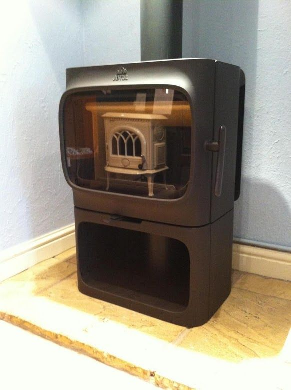 Two #Jøtul #woodburning #stoves for the price of one. #F305 B - 127 Best Cast Iron Woodburning Stoves Images On Pinterest Wood