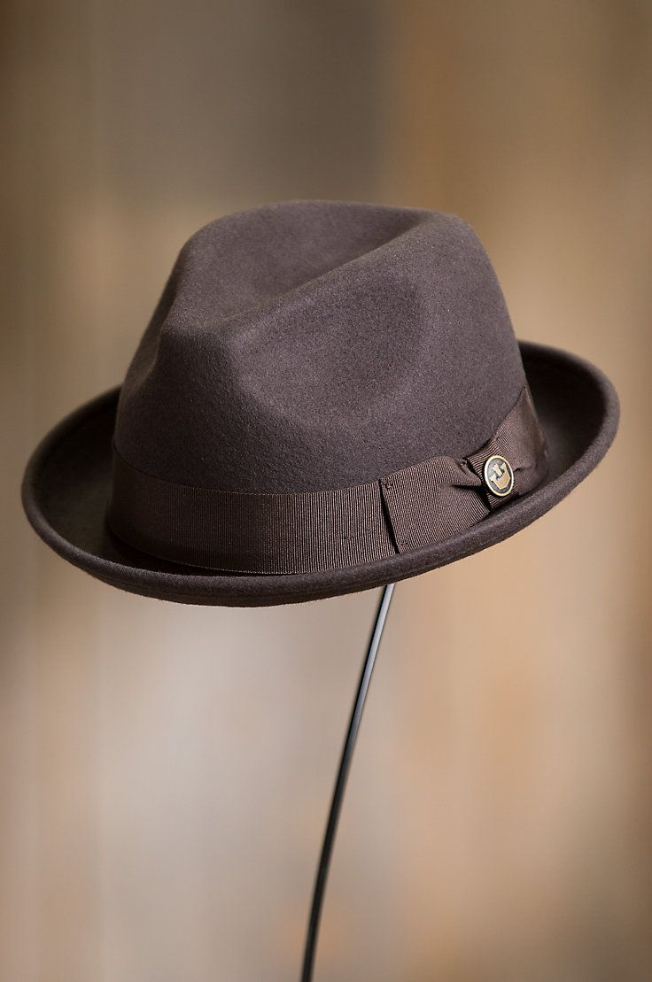 cc7f2b5d Goorin Bros. Good Boy Wool Felt Fedora Hat | Accessories | Hats, Hats for  men, Fedora hat