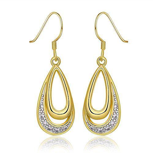 Amazona Secrets 18kt Gold Coffee Bean Earrings tHSjz
