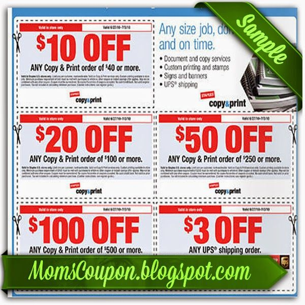 580 best Coupon For 2015 images on Pinterest Grocery coupons - staples resume printing